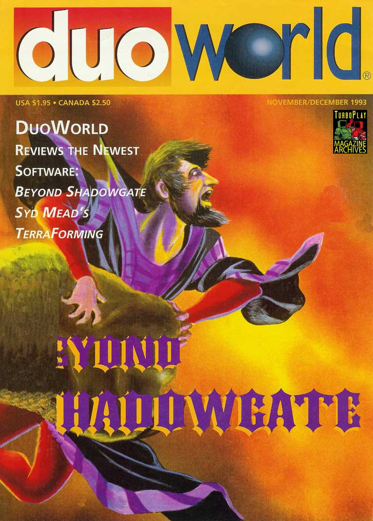 Duo World<br /> Issue Number 3<br /> November/December 1993</p> <p>Cover</p> <p>.