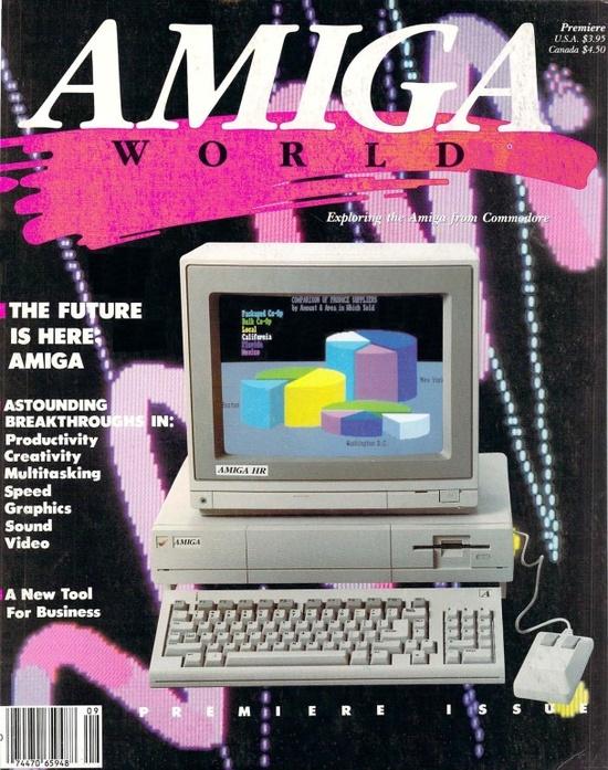 Computer Arcana / Amiga World, Premiere Issue, 1985 - #Amiga #80s #1980s #1985 - http://www.megalextoria.com/magazines/index.php?twg_album=Computer_Magazines%2FAmiga_World%2F1985_show=Amiga_World_Vol_01_01_1985_Premiere-001.jpg