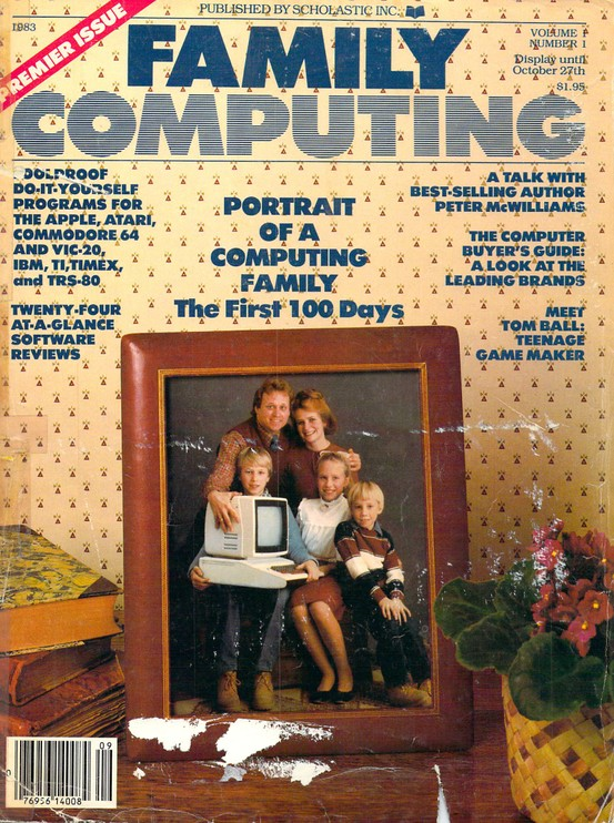 Family Computing, Volume 1, Issue 1, September 1983