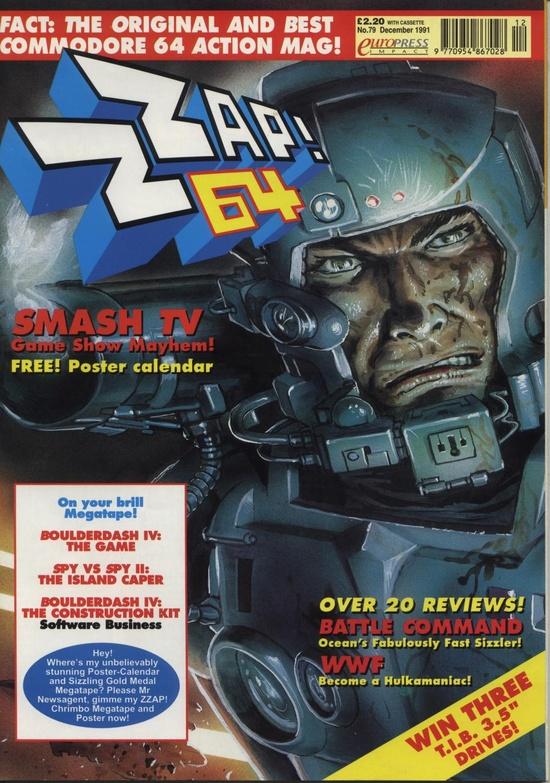 Zzap! 64, Issue 79, December 1991