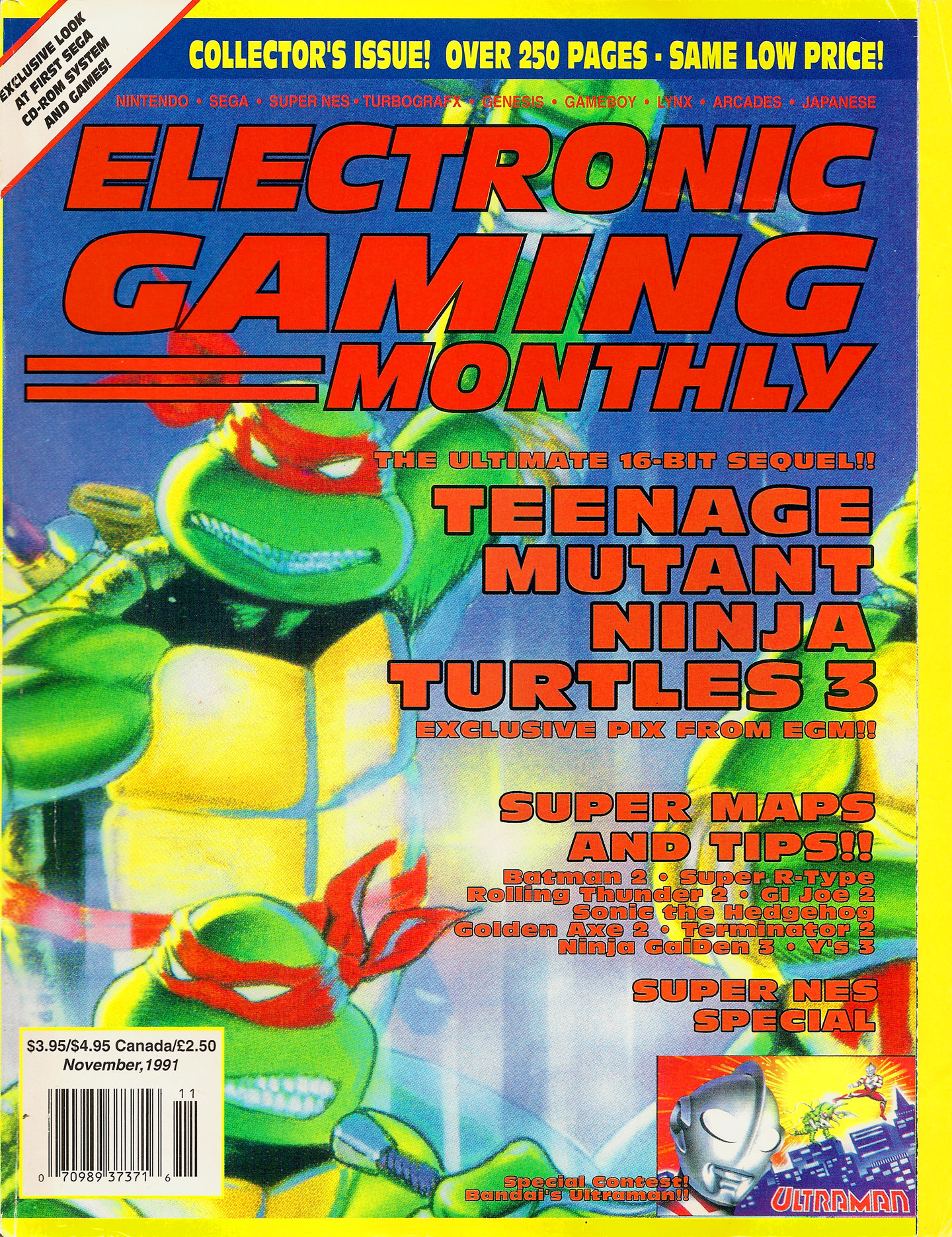Electronic Gaming Monthly Issue 028 November 1991