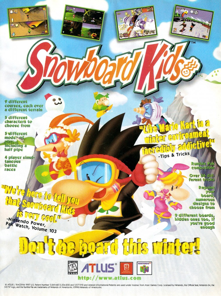 EGM 2 Issue Number 45 March 1998 Snowboard Kids (Nintendo 64)