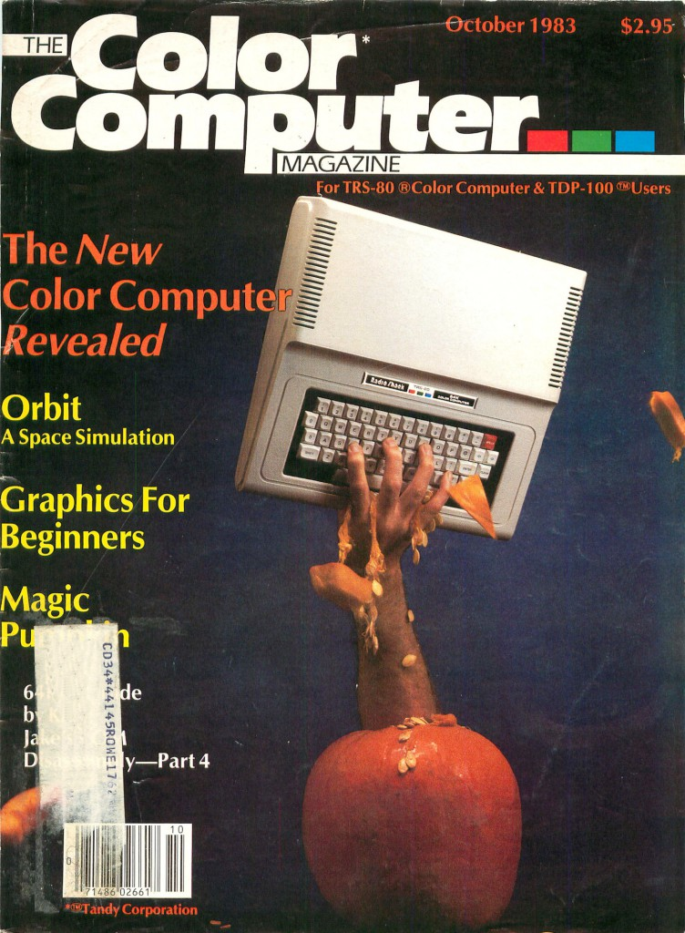 Color Computer Magazine Issue 08-001