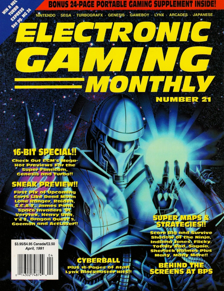 Electronic Gaming Monthly Issue 021 April 1991 page 001