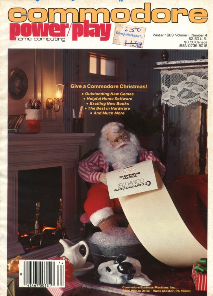 Commodore Power/Play Home Computing Volume II, Number 4 Winter 1983 Cover