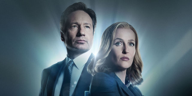 Mulder and Scully in The X-Files revival key art