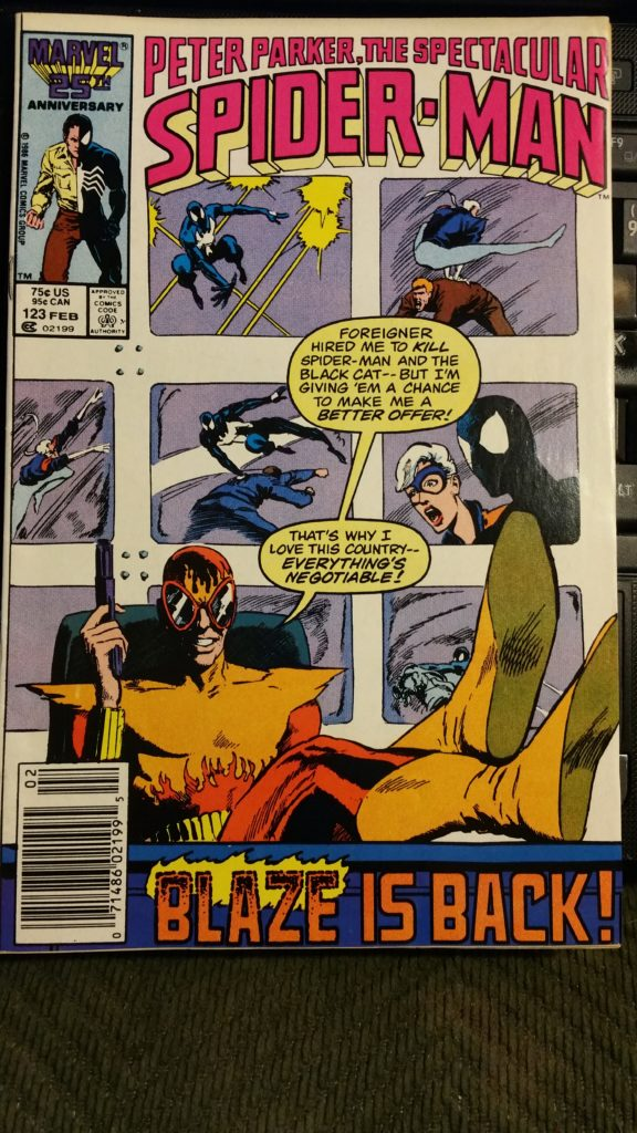 The Spectacular Spider-Man #123